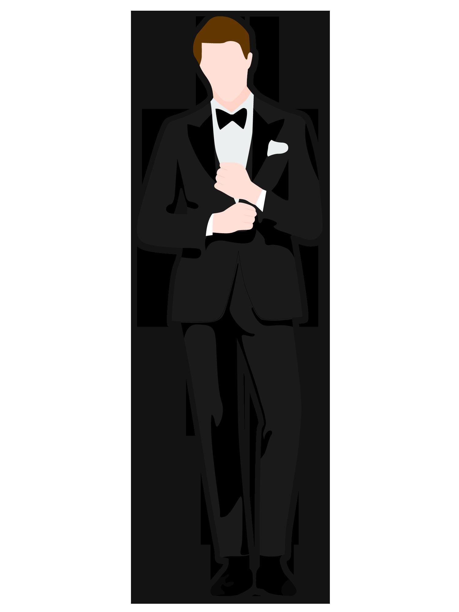 Formal Wear Cartoons