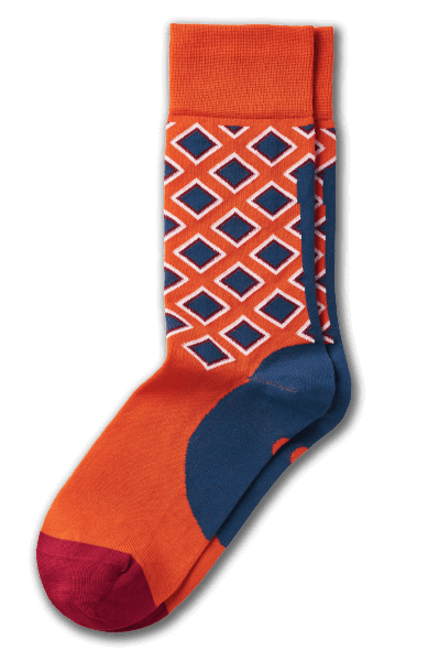 Cheerful patterns, serious quality