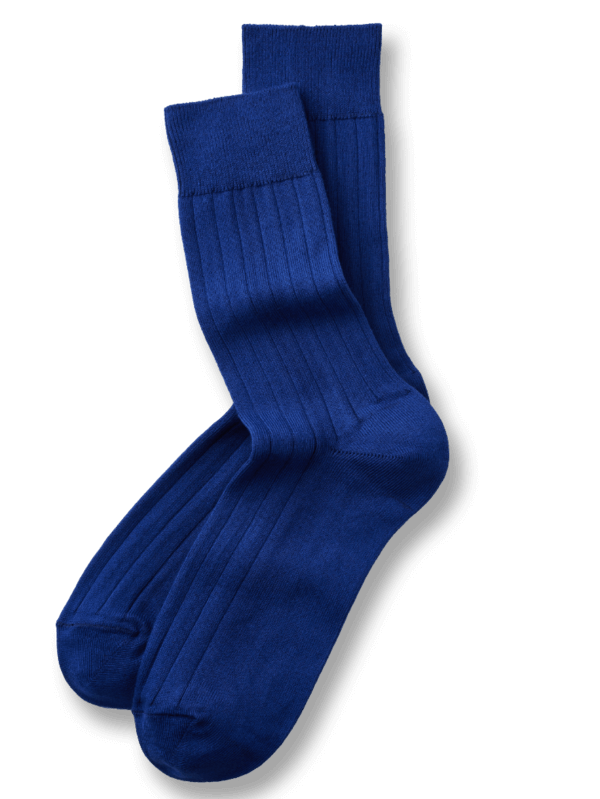 Wadensocken Classic in Royal Blue