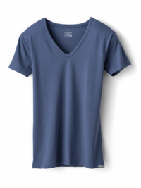 T-Shirt Claudette Petrolblau