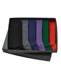 Merino Wollsocken Box