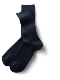 Wadensocken Navy
